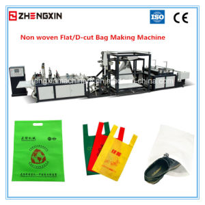 Automatic D-Cut Bag Non Woven Bag Making Machine Zxl-B700 pictures & photos