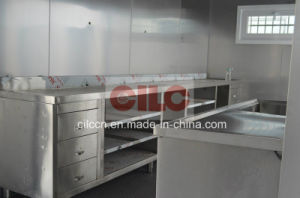 ISO Modified Container / 20′ft Modified Container for Fish Shop with Stainless Decoration (CILC-MC-Shop001) pictures & photos