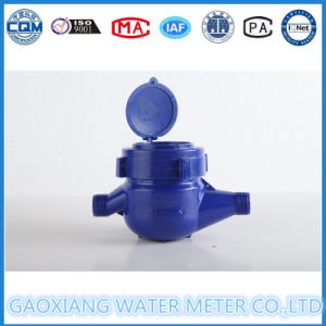 Plastic Class B Dry Type Water Flow Meter Dn15-Dn25 pictures & photos