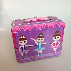 Rectangular Lunch Tin Box for Christmas pictures & photos