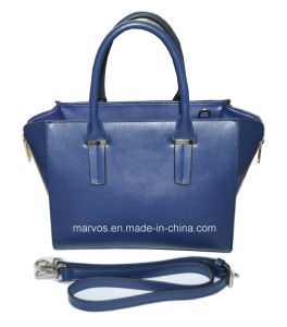 Fashionable PU Leather Women Handbag with Hight Quality (M10504) pictures & photos