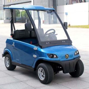 EEC Approved 2 Seats Cheap Electric Cars for Sale (DG-LSV2) pictures & photos