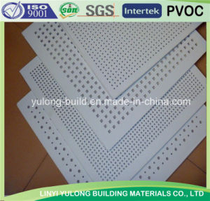 High Quality /Good Price Acoustic Perforate Gypsum Board pictures & photos