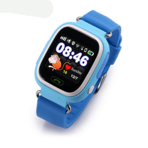 Kids GPS Watch with 1.22′′ Colorful Touch Screen (D15) pictures & photos