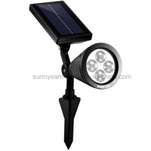 4 LED Courtyard Spotlight Solar Outdoor Lawn Garden Lighting pictures & photos