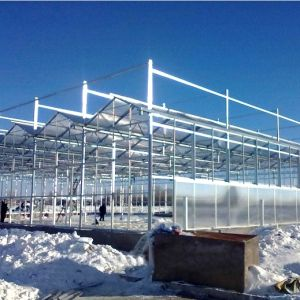 2016 Newest Multi-Span Glass Greenhouse for Sale pictures & photos