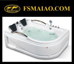Multi-Function Retangle Two-Seats Modern Acrylic Jacuzzi Bathtub (MG-204) pictures & photos