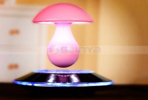 Wireless Maglev Floating LED Bulb Light Speakers Mushroon Bluetooth Touch Speaker pictures & photos