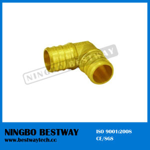 Lead Free Brass Pex Elbow Pipe Fitting pictures & photos