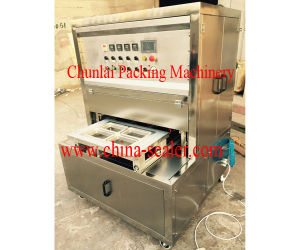 Automatic Vertical Type Pneumatic Tray Sealing Machine pictures & photos