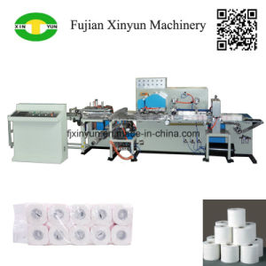 Low Price Automatic Multi Rolls Toilet Paper Film Packing Machine pictures & photos