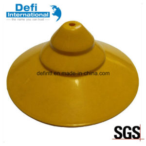Good Quality Shiny Yellow PP Showerhead Cap pictures & photos