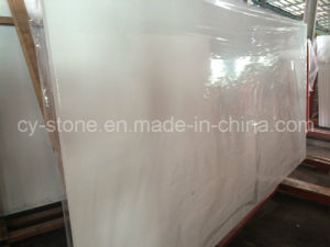 Cheap Pure White Quartz/Artificial/Engineered Stone Granite for Wall/Floor/Countertop pictures & photos