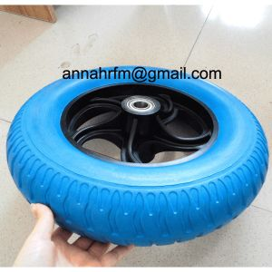 "13"" Flat Free Light Weight Wheelbarrow Tire pictures & photos"