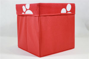 Wholesalers China Foldable Non Woven Storage Box / Toy Storage Box (MECO416) pictures & photos