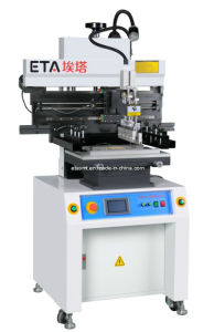SMT Solder Paste Semi-Auto Stencil Printer pictures & photos