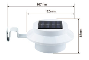Solar Power LED Lamp Garden Light Fence Solar Light pictures & photos