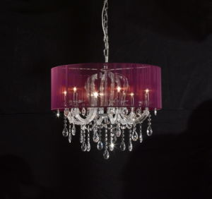 Gust Room Shade Lamps Crystal Chandelier (KA9242) pictures & photos