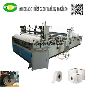 Automatic Toilet Paper and Small Bobbin Paper Slitting Rewinding Machine Price pictures & photos