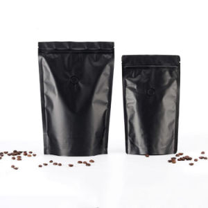 Printed Food Grade Stand up Plastic Coffee Bag with Zipper pictures & photos