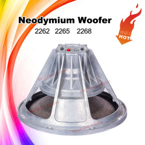 High-End 2268HPL Neodymium Speaker Driver 18′′ Inch Woofer pictures & photos