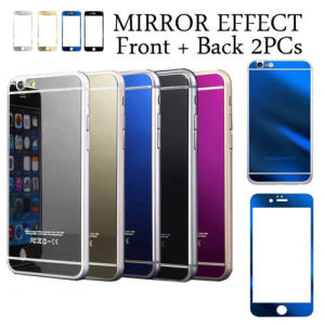 Color Mirror Effect Tempered Glass Screen Protector for iPhone 6 pictures & photos