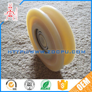 Custom Colorful PA66 Nylon Plastic Wire Rope Guide Pulley / Wheel Kit with Copper Sleeve pictures & photos