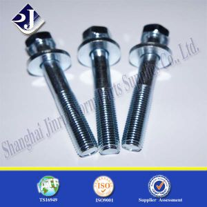 Flange Bolt with Zinc Plated 8.8 pictures & photos