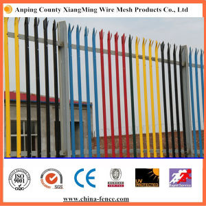 "High Quality ""W"" ""D"" Type Powder Coating Palisade Fence pictures & photos"