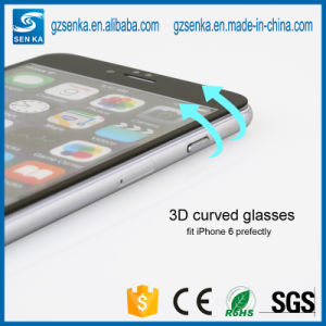 0.3mm Curved Edge Glass Screen Protector for Samsung S6 pictures & photos