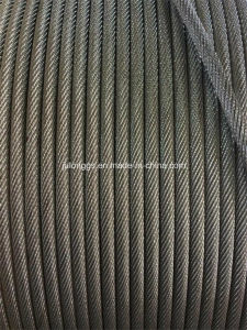 Steel Wire Rope /Black Steel Wire Rope /Wire Rope 19*7 pictures & photos