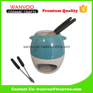 Wholesale Promotional Cook Restaurant Fondue Sets with Ceramic pictures & photos