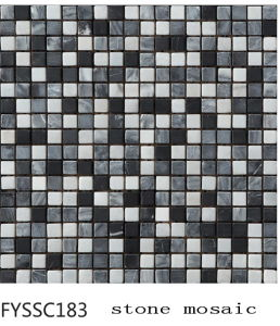Mixed Color Natural Stone Marble Mosaic (FYSSC193) pictures & photos