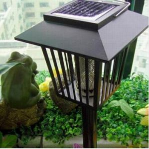 Solar Bug Zapper Anti Flies Catcher Garden Mosquito Killer Lamps pictures & photos
