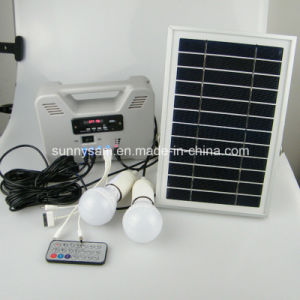 Smart Portable Solar Power System for Indoor Home Emergency Use pictures & photos
