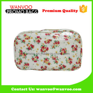 Country Style Cosmetic Jewelry Pencil Bag with Zipper Closures pictures & photos