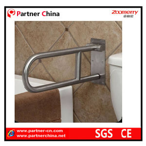 Stainless Steel 304 Toilet Support Grab Bar pictures & photos