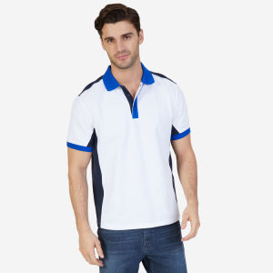White Classic Fit Heritage Color Block Polo Shirt pictures & photos