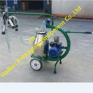 Single Cow Portable Milking Machine with Dry Type Pump pictures & photos