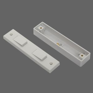 10A 2-G 2-W Architrave Switch