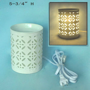 Electric Metal Fragrance Warmer - 15CE00877