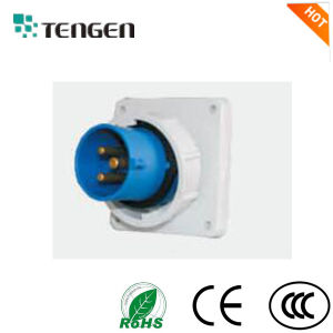 Socket and Plug IP67, 3p+N+E, with CCC, CE, RoHS Certificate pictures & photos
