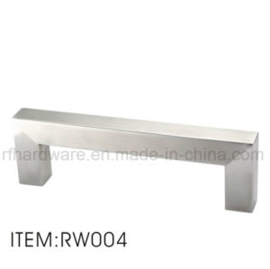 Furniture Stainless Steel Handle Wooden Door Handle (RW004) pictures & photos