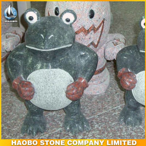 Wholesale Stone Animal Carvings Frog Statue pictures & photos