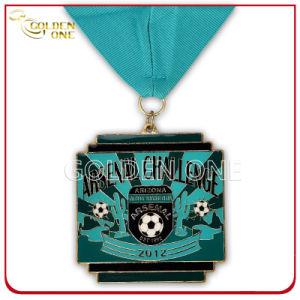 Custom Gilt Football Game Award Medal pictures & photos