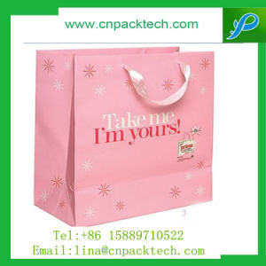 Luxury Cosmetic with Custom Logo Color Printed Paper Bag pictures & photos