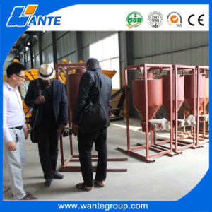 Wt10-15 Automatic Movable Foam Concrete Block Production Machinery pictures & photos