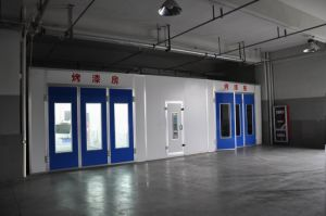 Downdraft Booth Auto Maintenance Paint Booth for Car pictures & photos