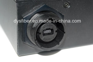 Fiber Optic MPO-12*Sc Cassette with Waterproof MPO Connector pictures & photos