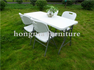 Hot Sale Cheap Outdoor Furniture 5ft Plastic Folding Table pictures & photos